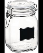 Klaaspurk Fido 1,5 l etiketiga