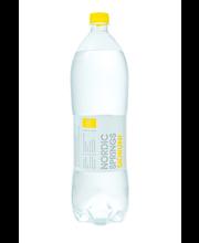 Nordic Springs sidrunimaitseline vesi 1,5 L