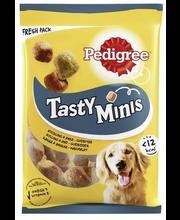Pedigree Tasty Bites kanalihakuubikud koertele, 130 g