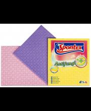 Spontex käsnlapp 3 tk, antibakteriaalne