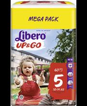 Libero Up&Go 5 Püksmähe 10-14kg 60 tk.