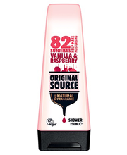 Dushigeel vanilla raspberry 250ml vegan