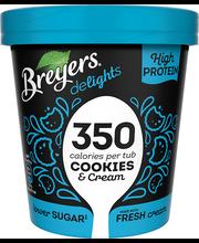 Küpsise-kreemi jäätis, 500 ml