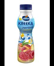 Vaarika-virsiku kreeka jogurtijook, 275g