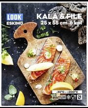 Küpsetuskott kala ja filee 25x55 cm 6 tk