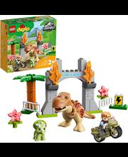 10939 Dinosauruste T. rex ja Triceratops põgenemine