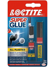 Kiirliim Loctite All Plastic 2 g + 4 ml