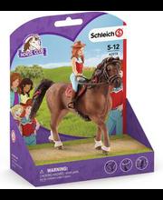 42514 Schleich Horse Club Hannah ja Cayenne