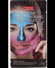 Näomask Galaxy 2x multi-masking pink&blue
