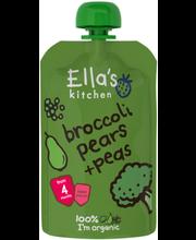 Ella´s Kitchen brokoli-pirni-hernepüree 120 g, öko, alates 4-...
