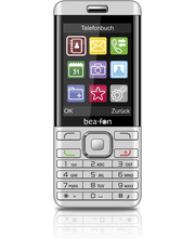 Mobiiltelefon Beafon C350, hõbedane
