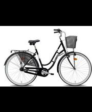 """Jalgratas 28"""" Ilona 7 käiku, must"""
