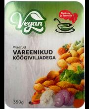 Vegan praetud vareenikud köögiviljadega 350 g