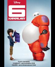 DVD 6 kangelast / Big Hero 6