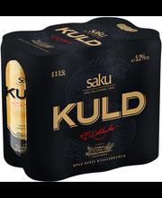 Saku Kuld õlu 5,2% 6-pakk 3L