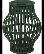Bambuslatern 24 cm, roheline
