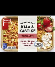 Ahjuvalmis kala tomati-mozzarella-kastmega 380 g