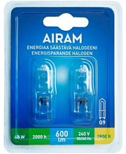 Halogeenlamp Ecohalogen 40 G9 600lm 2000h 2 tk