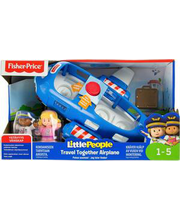 Fisher Price Lennuk Little People Travel Together 1 A+