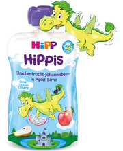 HIPP Hippis õuna-pirnipüree draakonvilja ja musta sõstraga BIO 1a