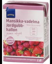 Rainbow vaarika-maasika mahlajook, 200 ml
