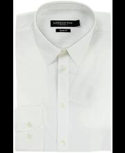 Meeste triiksärk, valge L slim