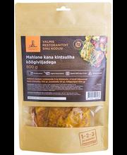 Pikaltküpsetatud kanakints köögiviljadega 800 g