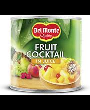 Del Monte puuviljakokteil mahlas 415/250 g
