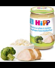 Hipp brokolirisoto küülikulihaga 220 g, alates 8-elukuust