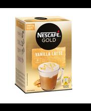 Kohvijook Nescafe Vanilla Latte 8 x 18,5 g