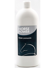 MSM-liniment Horse Power, 1 l