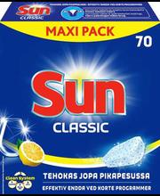 Sun Classic Lemon nõudepesumasina tabletid 70 tk