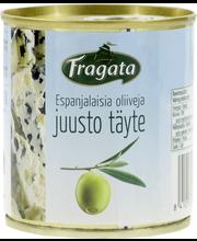 Rohelised oliivid juustutäidisega 200/85 g