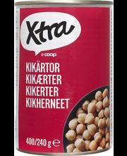 Xtra kikerherned soolvees 400/240 g