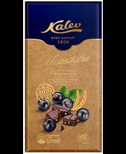 Kalev tume šokokolaad mustsõstra-teraviljaga 100g