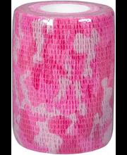 Tugiside 7,5 cmx4,5 m isekinnituv, roosa