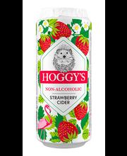 Hoggys maasikasiider alkoholivaba 500ml