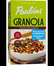 Paulúns Granola kakao ja vaarika 450 g