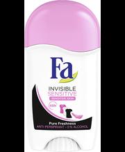 Pulkdeodorant invisible sensitive 50g