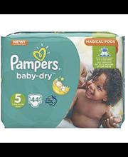 Pampers teipmähkmed Baby Dry 5, 11-16 kg, 44 tk