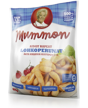 Krõbedad kartulisektorid, 400 g