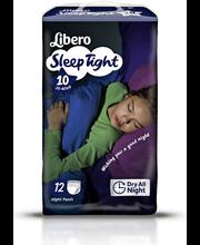 Libero öömähkmed SleepTight 10, 35-60 kg, 12 tk