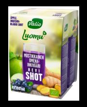 Valio mahe mustika-õuna-ingveri shot, 4x100ml