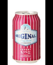 Hartwall Original LD Cranberry, 33o ml