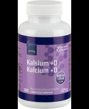 Rainbow kaltsium + D-vitamiin, 180 tk