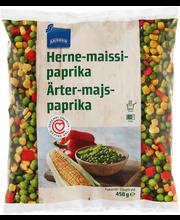 Hernes, mais, paprika, 450 g