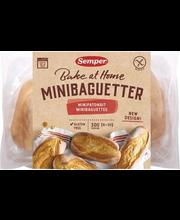 Mini-baguette, eelküpsetatud, gluteenivabad 6 x 50 g
