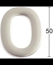 Habo uksenumber 0, 50 mm, roostevaba teras