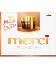 Merci Mousse assortii kommikarp 210 g
