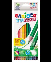 Värvipliiatsid CARIOCA TITA 12